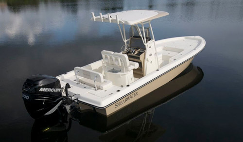 ShearWater_Boats_25LTZ_Center_Console_Bay_Boat