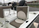 Excel 18' Aluminum Bay Boat Rear Jump Seats