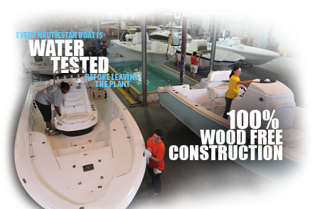 Nautic Star Boats Construction