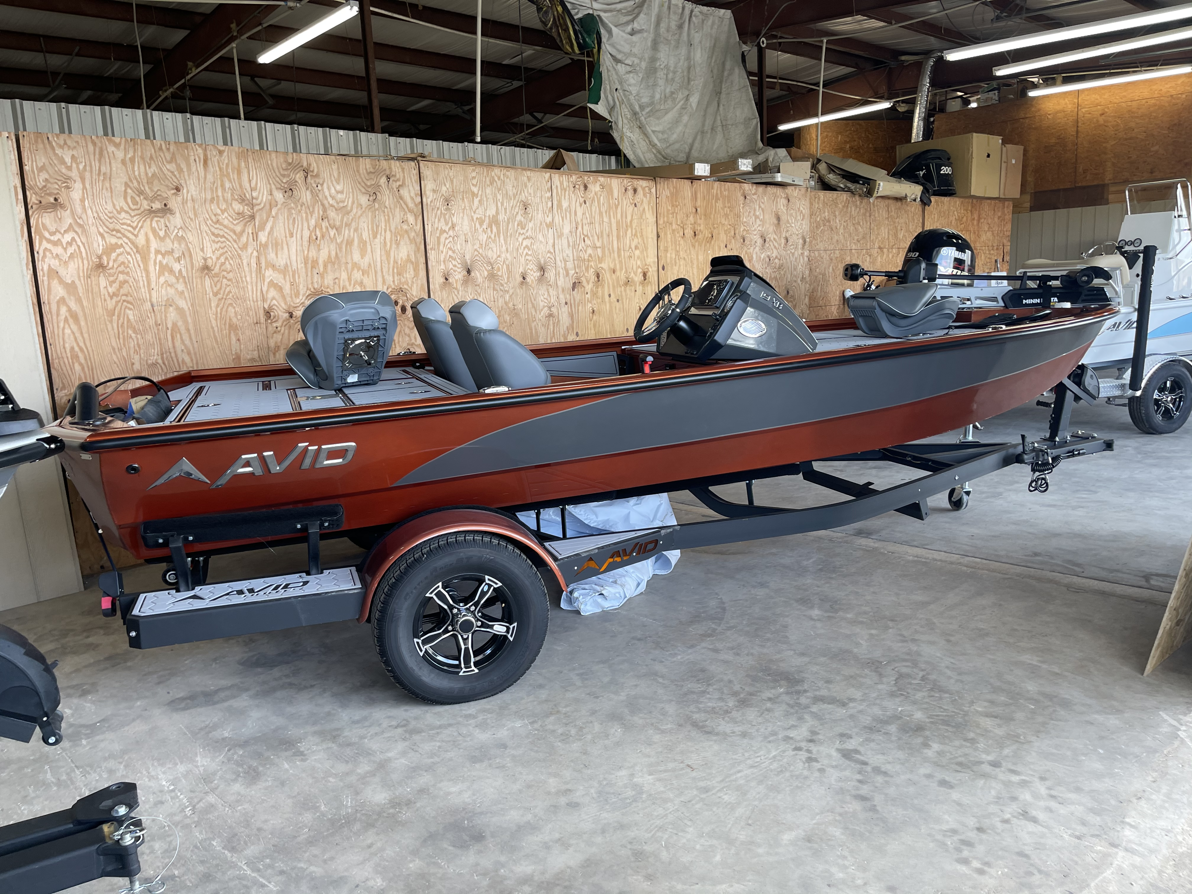 Avid 19XB 19' Aluminum Best Bass Boat Yamaha 150 hp SHO Outboard Motor