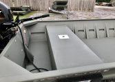 WeldCraft Boats Dealer large rear bench seat Mercury 40hp