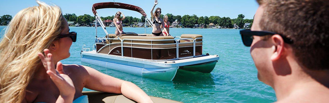 Bennington Pontoon Dealer Cruise