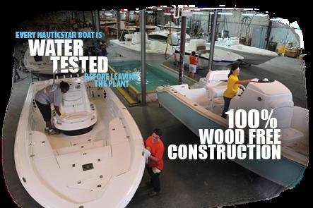 NauticStar Boats Construction