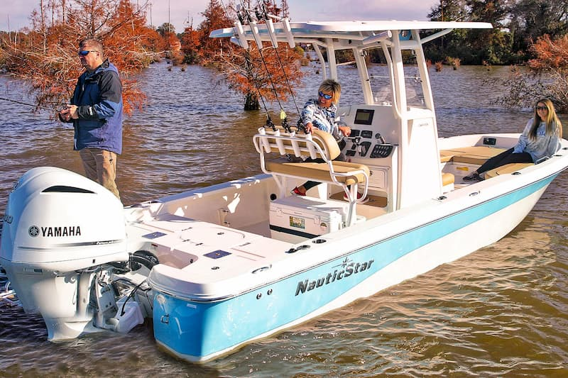 NauticStar Bay Boats Dealer 249 XTS Fishing Louisiana and Texas