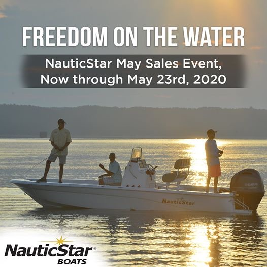 NauticStar freedom on the water sales event